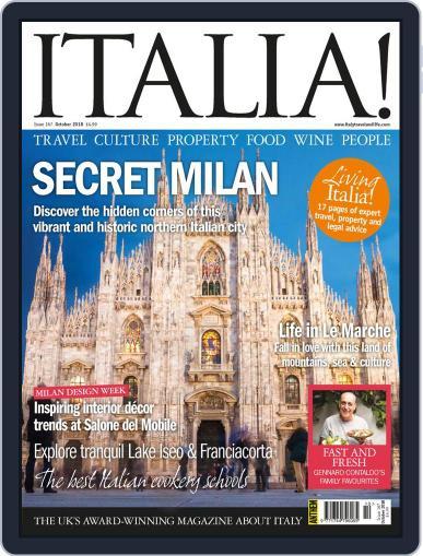 Italia October 1st, 2018 Digital Back Issue Cover