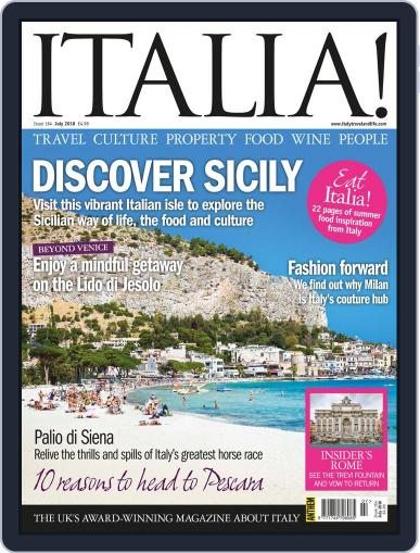 Italia (Digital) July 1st, 2018 Issue Cover