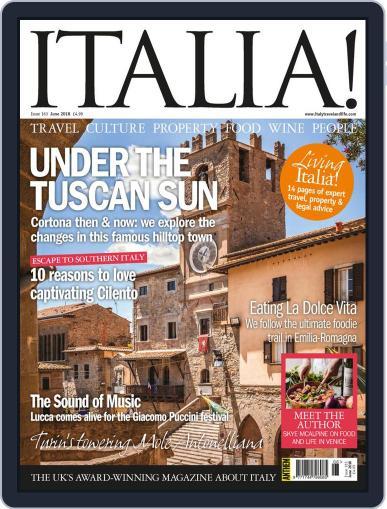 Italia (Digital) June 1st, 2018 Issue Cover
