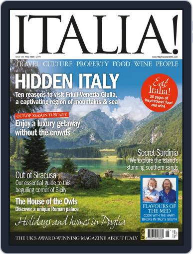 Italia (Digital) May 1st, 2018 Issue Cover