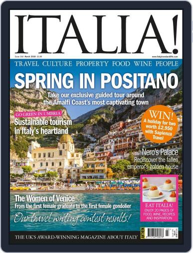 Italia (Digital) March 1st, 2018 Issue Cover