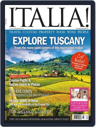 Italia February 1st, 2018 Digital Back Issue Cover