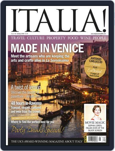 Italia (Digital) January 1st, 2018 Issue Cover