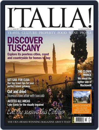 Italia (Digital) October 1st, 2017 Issue Cover
