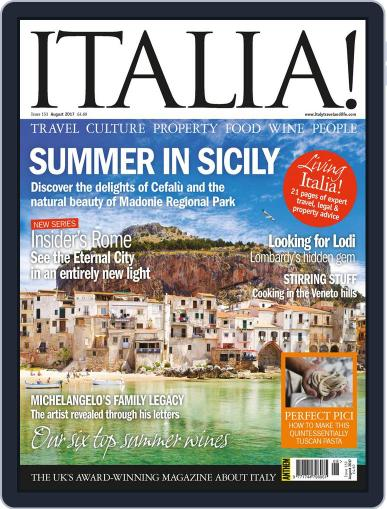 Italia (Digital) August 1st, 2017 Issue Cover