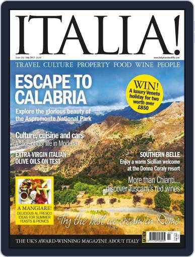 Italia (Digital) July 1st, 2017 Issue Cover