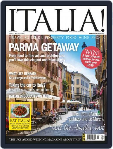 Italia June 1st, 2017 Digital Back Issue Cover