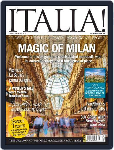 Italia (Digital) January 1st, 2017 Issue Cover