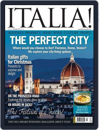 Italia (Digital) December 1st, 2015 Issue Cover