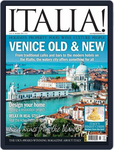 Italia (Digital) November 1st, 2015 Issue Cover