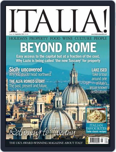 Italia (Digital) September 1st, 2015 Issue Cover