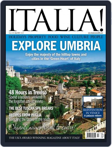 Italia (Digital) July 1st, 2015 Issue Cover