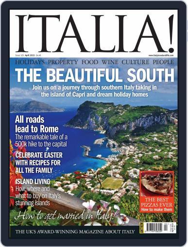 Italia (Digital) April 1st, 2015 Issue Cover