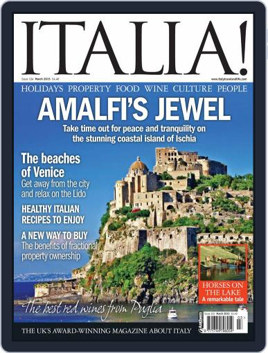 Italia (Digital) March 1st, 2015 Issue Cover