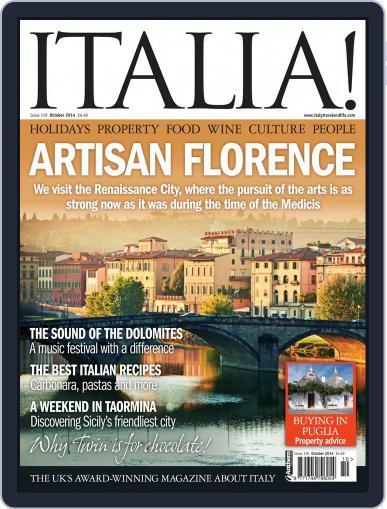 Italia September 24th, 2014 Digital Back Issue Cover