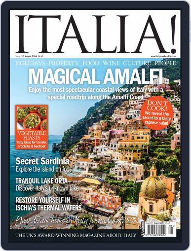 Italia (Digital) July 9th, 2014 Issue Cover