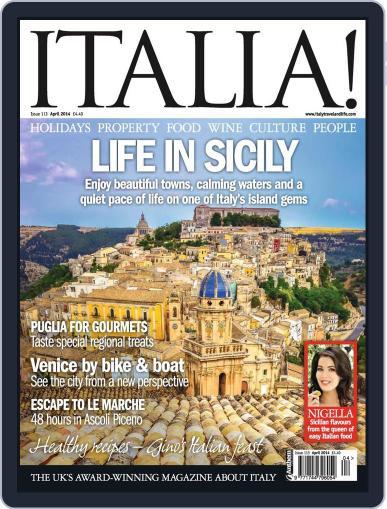 Italia (Digital) March 12th, 2014 Issue Cover