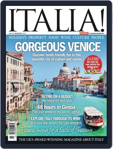 Italia (Digital) January 7th, 2014 Issue Cover