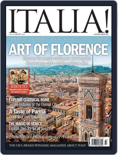 Italia (Digital) June 19th, 2013 Issue Cover