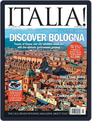 Italia April 17th, 2013 Digital Back Issue Cover