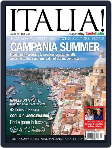 Italia May 1st, 2012 Digital Back Issue Cover