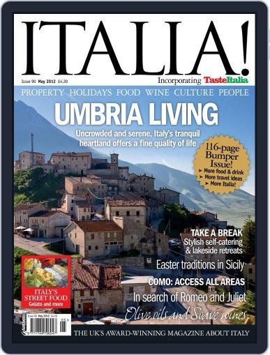 Italia (Digital) April 3rd, 2012 Issue Cover