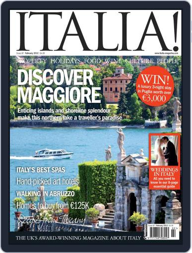 Italia (Digital) January 3rd, 2012 Issue Cover