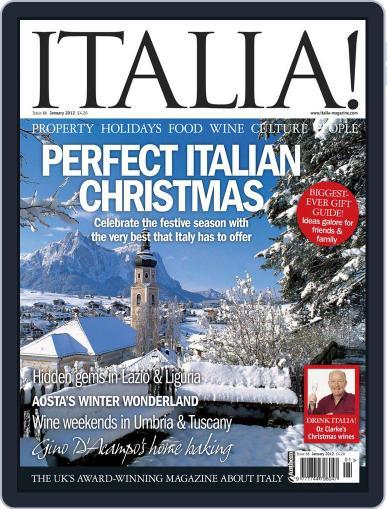Italia December 1st, 2011 Digital Back Issue Cover