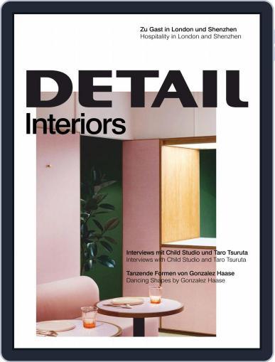 Detail (Digital) June 1st, 2020 Issue Cover
