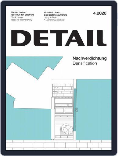 Detail April 1st, 2020 Digital Back Issue Cover