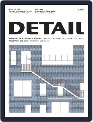 Detail (Digital) June 1st, 2019 Issue Cover