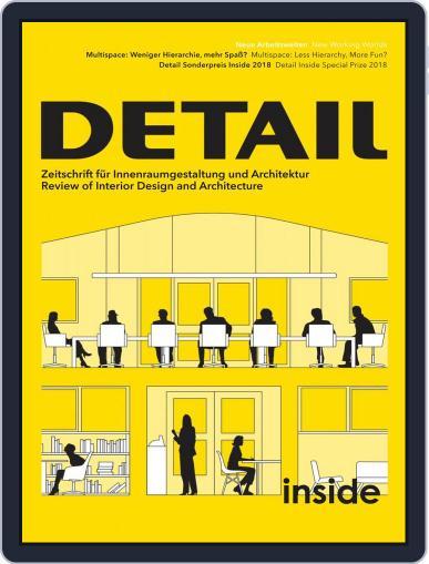 Detail (Digital) September 2nd, 2018 Issue Cover