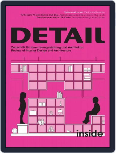 Detail April 1st, 2018 Digital Back Issue Cover