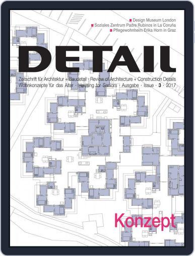 Detail February 1st, 2017 Digital Back Issue Cover