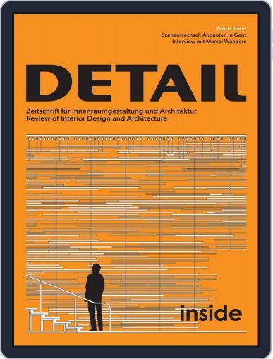 Detail (Digital) June 1st, 2016 Issue Cover