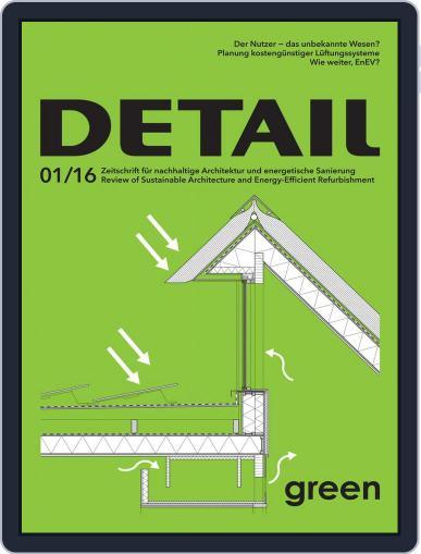 Detail April 1st, 2016 Digital Back Issue Cover