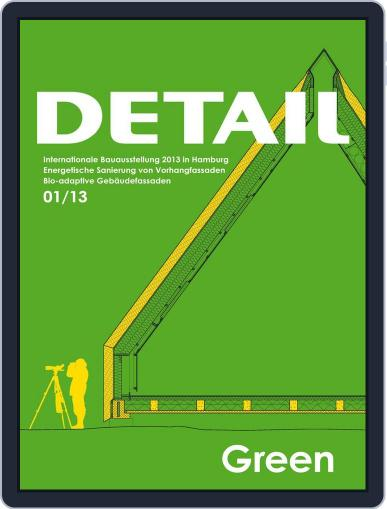 Detail (Digital) April 30th, 2013 Issue Cover