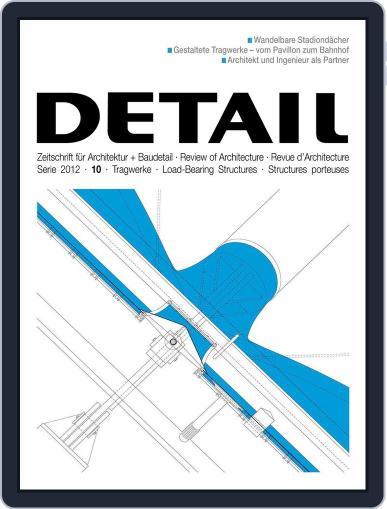 Detail (Digital) September 26th, 2012 Issue Cover