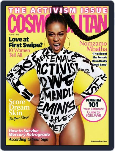 Cosmopolitan South Africa (Digital) August 1st, 2018 Issue Cover