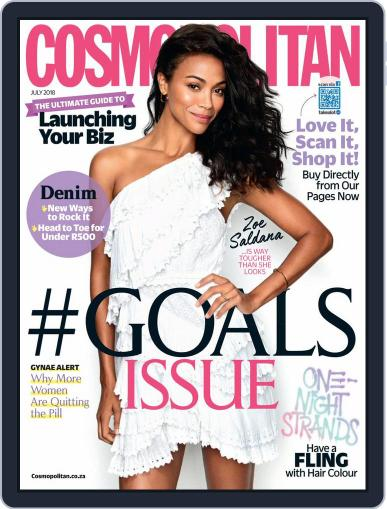 Cosmopolitan South Africa (Digital) July 1st, 2018 Issue Cover