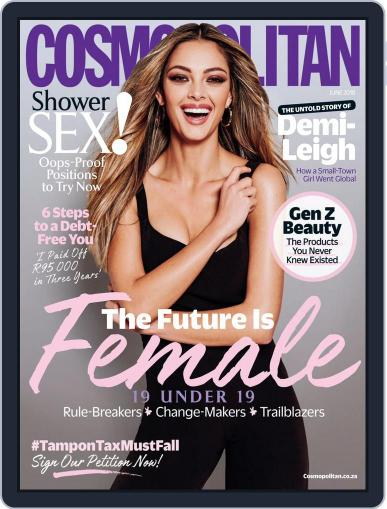 Cosmopolitan South Africa (Digital) June 1st, 2018 Issue Cover