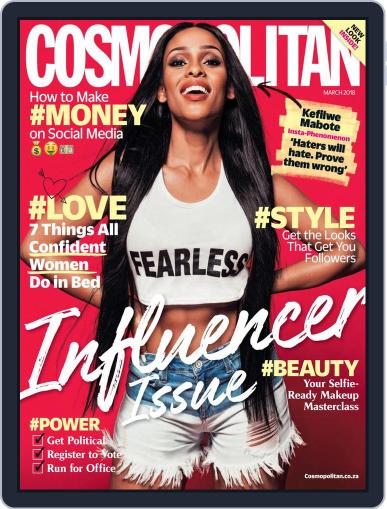 Cosmopolitan South Africa (Digital) March 1st, 2018 Issue Cover