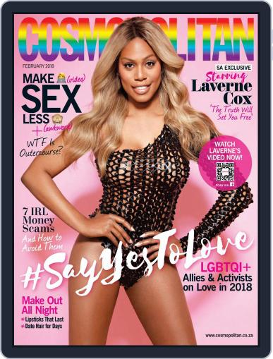 Cosmopolitan South Africa (Digital) February 1st, 2018 Issue Cover