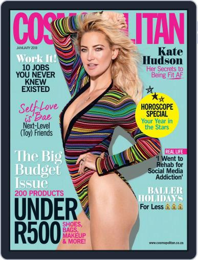 Cosmopolitan South Africa January 1st, 2018 Digital Back Issue Cover