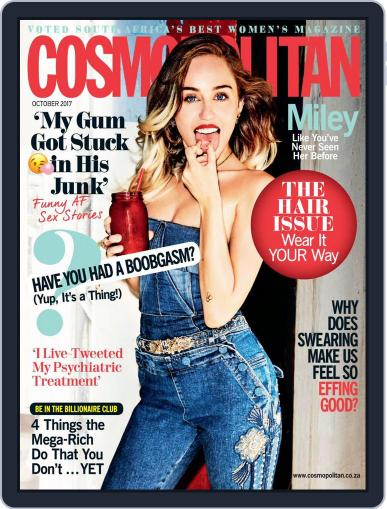Cosmopolitan South Africa October 1st, 2017 Digital Back Issue Cover