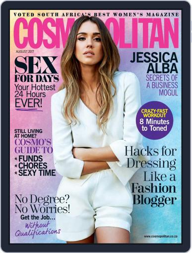 Cosmopolitan South Africa August 1st, 2017 Digital Back Issue Cover