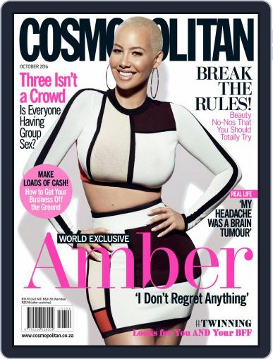 Cosmopolitan South Africa (Digital) October 1st, 2016 Issue Cover