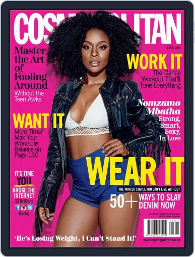 Cosmopolitan South Africa May 23rd, 2016 Digital Back Issue Cover