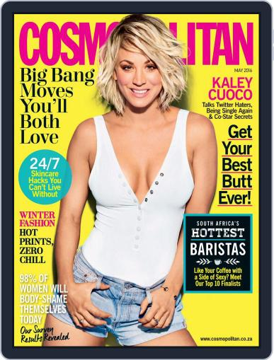 Cosmopolitan South Africa (Digital) April 18th, 2016 Issue Cover