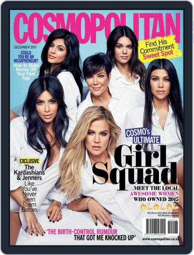 Cosmopolitan South Africa (Digital) November 13th, 2015 Issue Cover